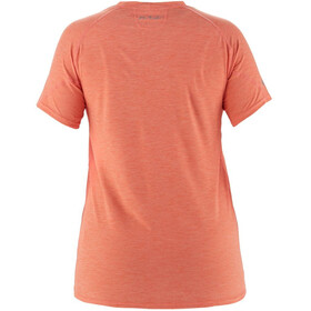 NRS H2Core Silkweight Camiseta Manga corta Mujer, naranja